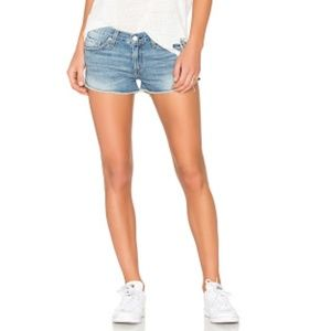 Rag & Bone Preston La Quinta Denim Shorts Size 26